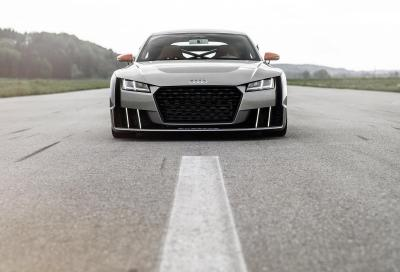 Audi TT Clubsport Turbo, primo video e nuove foto