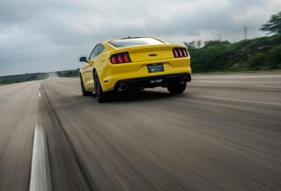 La Ford Mustang GT by Hennessey vola fino a 335km/h