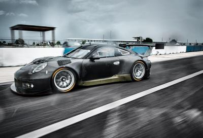 Porsche 911 GT3 R, back in black