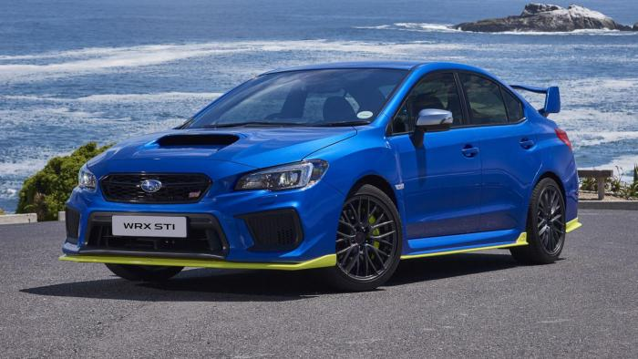 Subaru presenta la WRX Diamond Edition