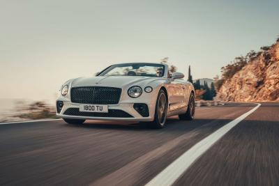 Ecco a voi la nuova Bentley Continental GT Convertible