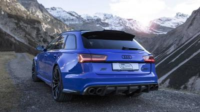L'Audi RS6 Nogaro Edition by ABT sfida una R8 Performance Parts