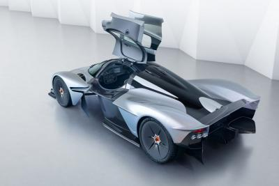 Confermate le specifiche dell'Aston Martin Valkyrie