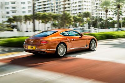 Bentley introduce la Continental GT V8 '19