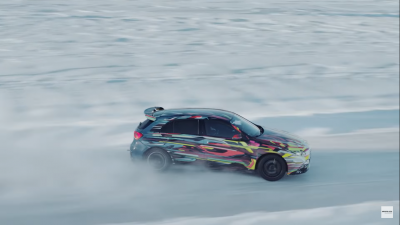 La A45 si diverte in Svezia con il Drift Mode