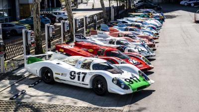 Colors of Speed: la mostra Porsche in omaggio alla 917