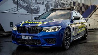 La Polizia Australiana ha una M5 Competition come nuova arma