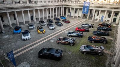 The Grand Tour by Bugatti per i suoi 110 anni