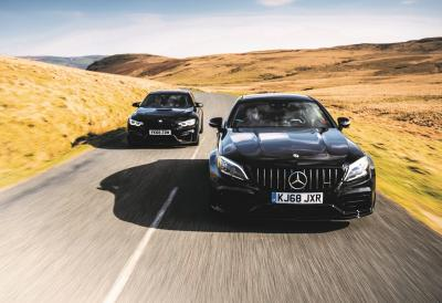 Mercedes-AMG C63 S Coupé vs BMW M4 Competition Pack