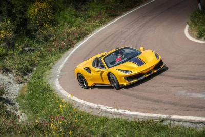 Ferrari 488 Pista Spider: il test - Video