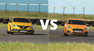 Hot Hatch: Ford Focus ST vs Renault Mégane RS Trophy