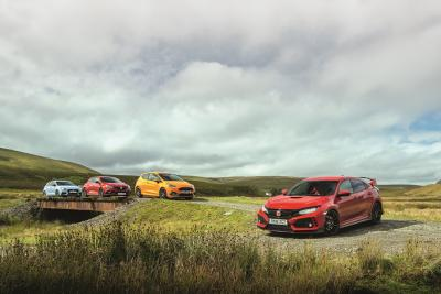 Hot Hatch: i30 N vs Mégane RS vs Fiesta ST vs Civic Type R