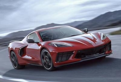 Chevrolet Corvette C8: al Ring va forte come la Porsche 911