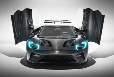 Ford GT: arriva la versione Liquid Carbon