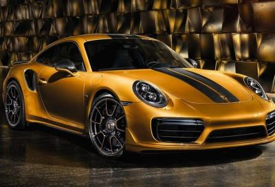 Porsche 911 Turbo S: da 0 a 96 km/h in 1,9 secondi