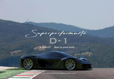 Superperformante D-One, oltre 1000 Cv made in Italy