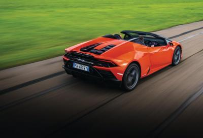 Best of the rest: Lamborghini Huracán Evo Spyder