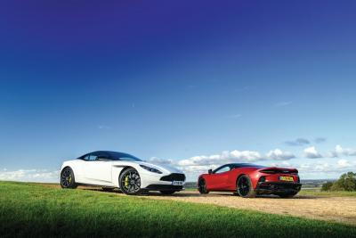 Best of the rest: Aston Martin DB11 AMR & McLaren GT