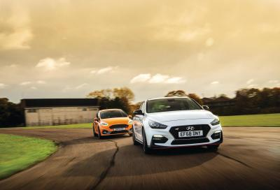 Best of the rest: Hyundai i30 Fastback N performance & Ford Fiesta ST Performance Edition