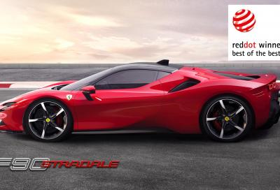 Record di Red Dot Award per Ferrari: il 17° se lo aggiudica la SF90 Stradale nella categoria Best of the Best Award