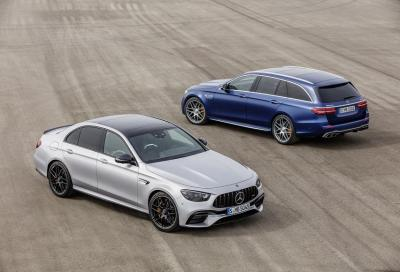 Mercedes-AMG E 63 4MATIC+: aggiornamenti per Berlina e Station-wagon