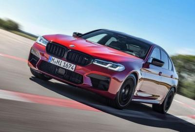 Bmw M5: la Competition sarà superata