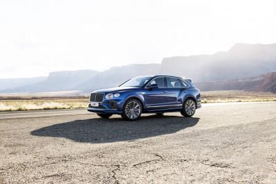 BENTLEY PRESENTA LA NUOVA BENTAYGA SPEED