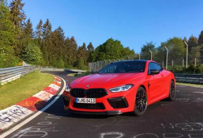 Strabiliante il tempo all'Inferno Verde di questa Bmw M8 Competition