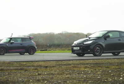 Toyota GR Yaris vs Mini Cooper GP: piccole si ma incazzate