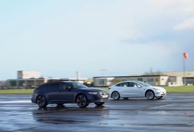 Audi RS 6 Avant vs Tesla Model 3 Performance: chi avrà la meglio?
