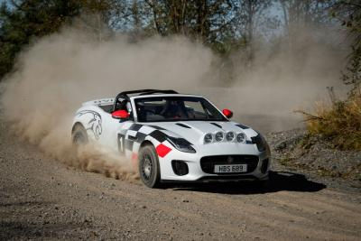 Jaguar F-Type Rally version 70th