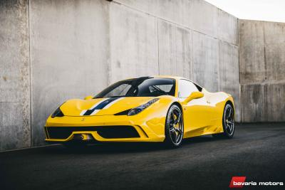 Ferrari 458 Speciale Giallo Modena for sale